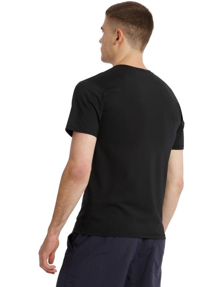 Solid Streak Short Sleeve Rash Top image 2