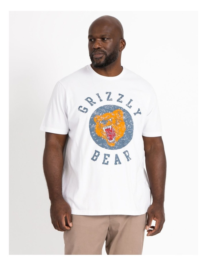 Grizzly Bear Graphic Tee image 1