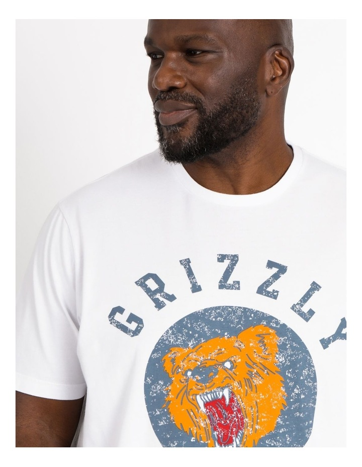 Grizzly Bear Graphic Tee image 4