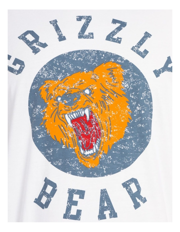 Grizzly Bear Graphic Tee image 5