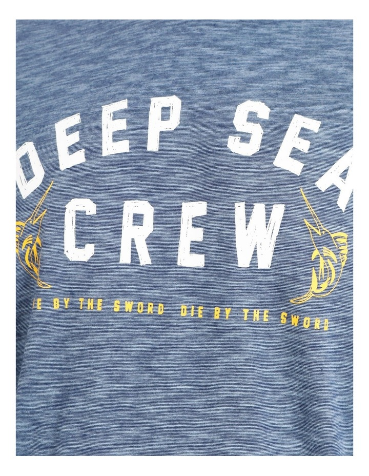 Reserve Big & Tall Mrw2148620Bt Deep Sea Crew Graphic Tee Steel image 5