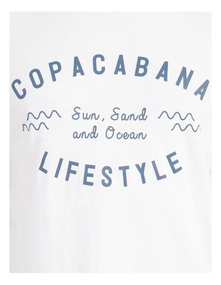 Copacabana Lifestyle Graphic T-Shirt image 7