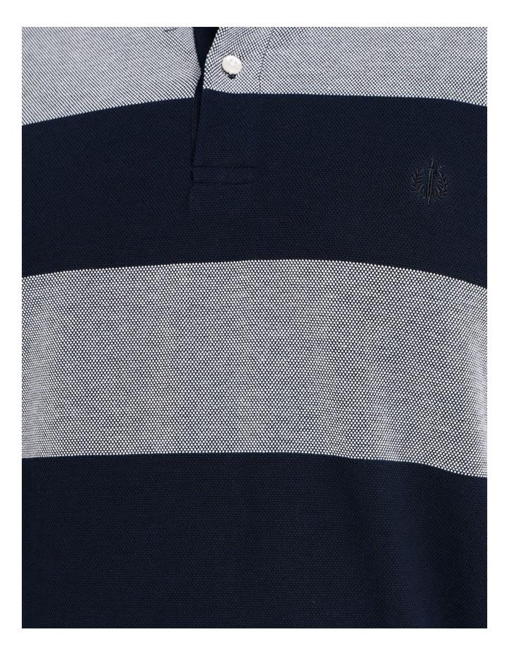 Hudson Birdseye Block Stripe Polo image 5