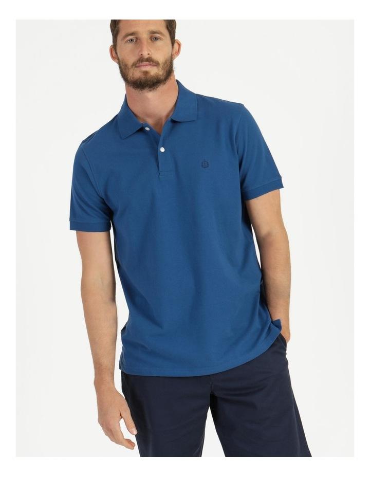 Essential Plain Polo Blue image 1