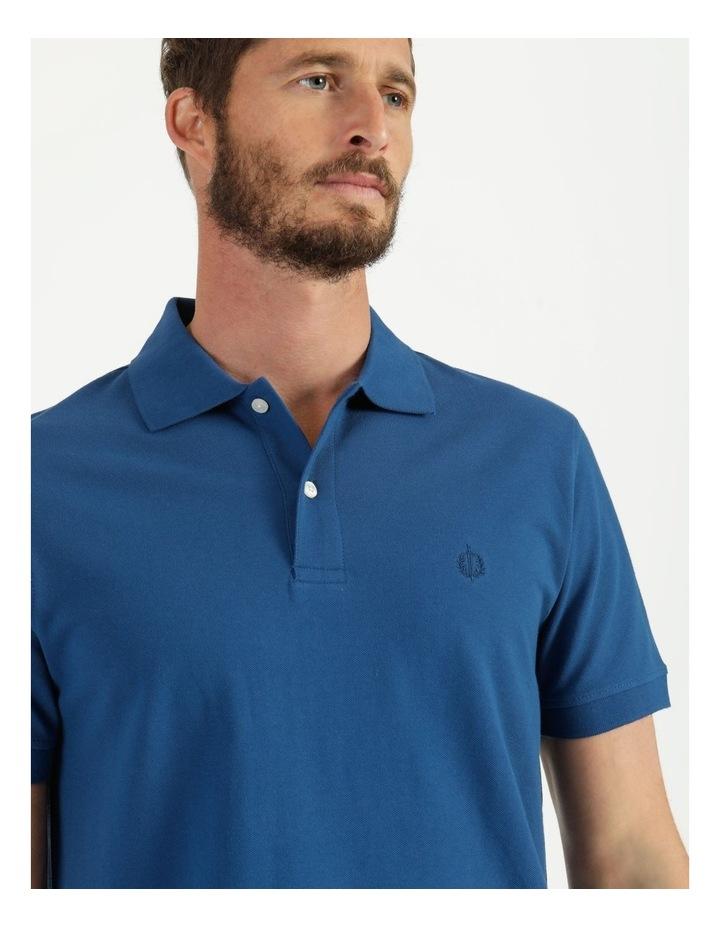 Essential Plain Polo Blue image 2