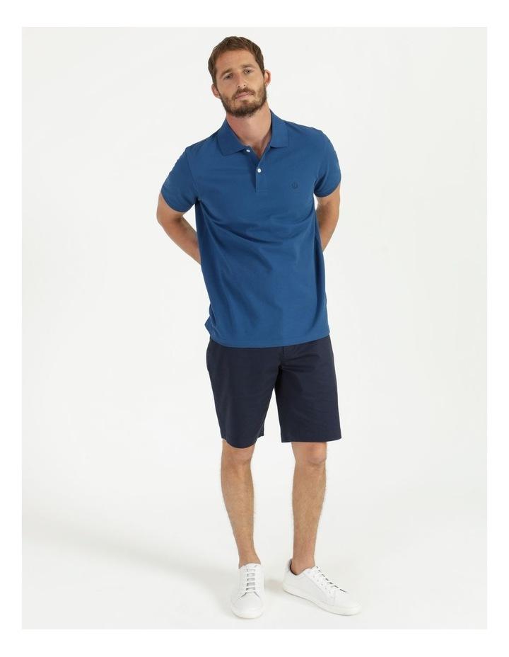 Essential Plain Polo Blue image 3