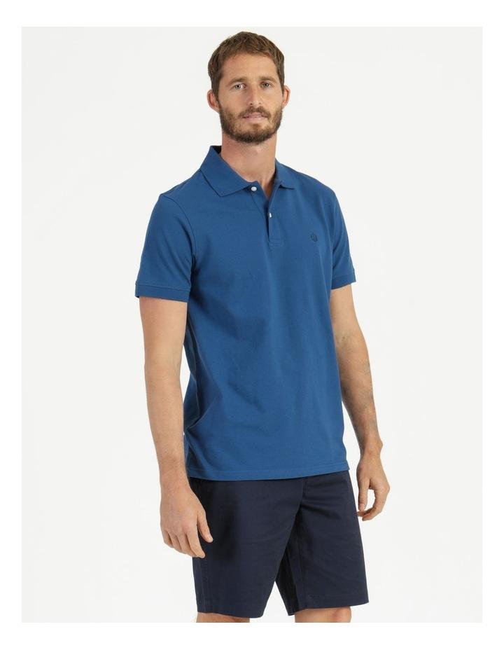 Essential Plain Polo Blue image 4