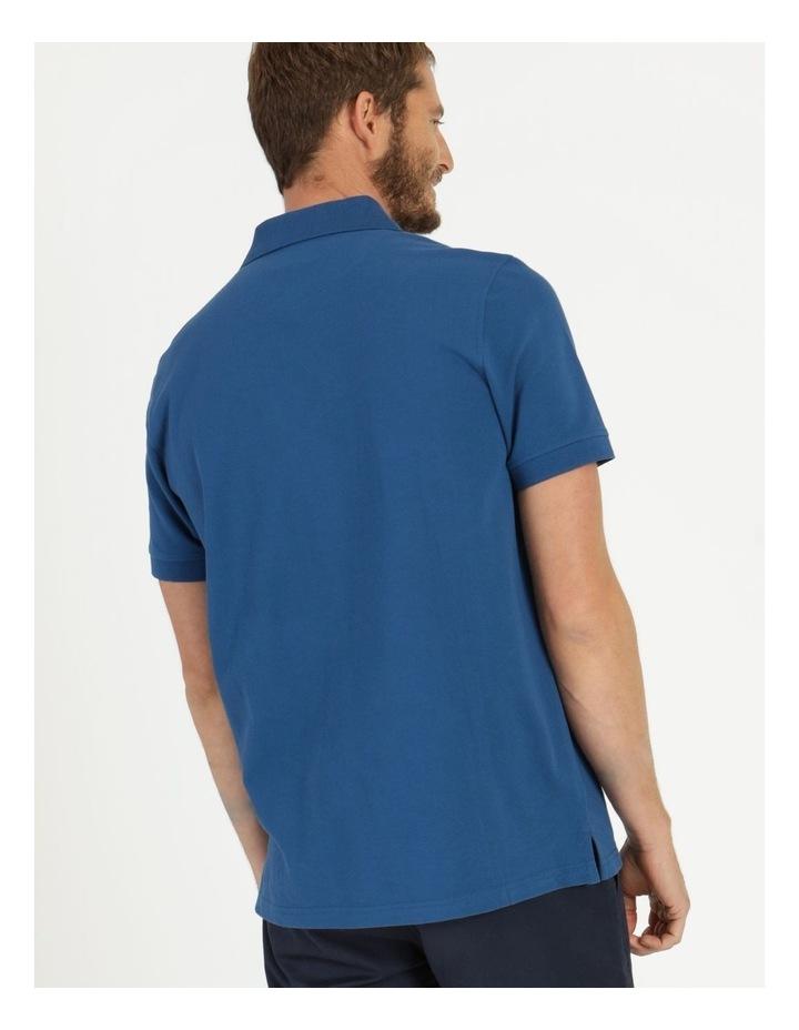 Essential Plain Polo Blue image 5