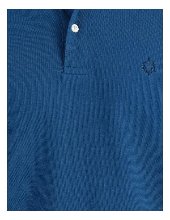 Essential Plain Polo Blue image 6