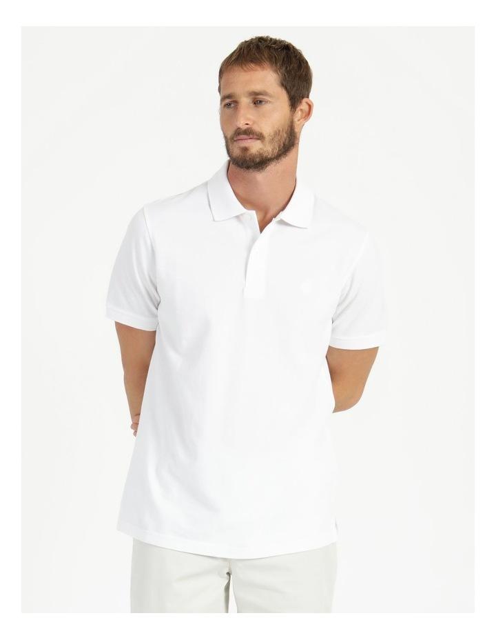 Essential Plain Polo White image 1