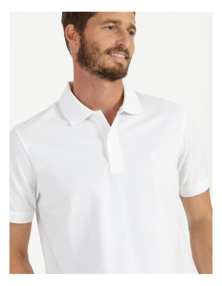 Essential Plain Polo White image 2