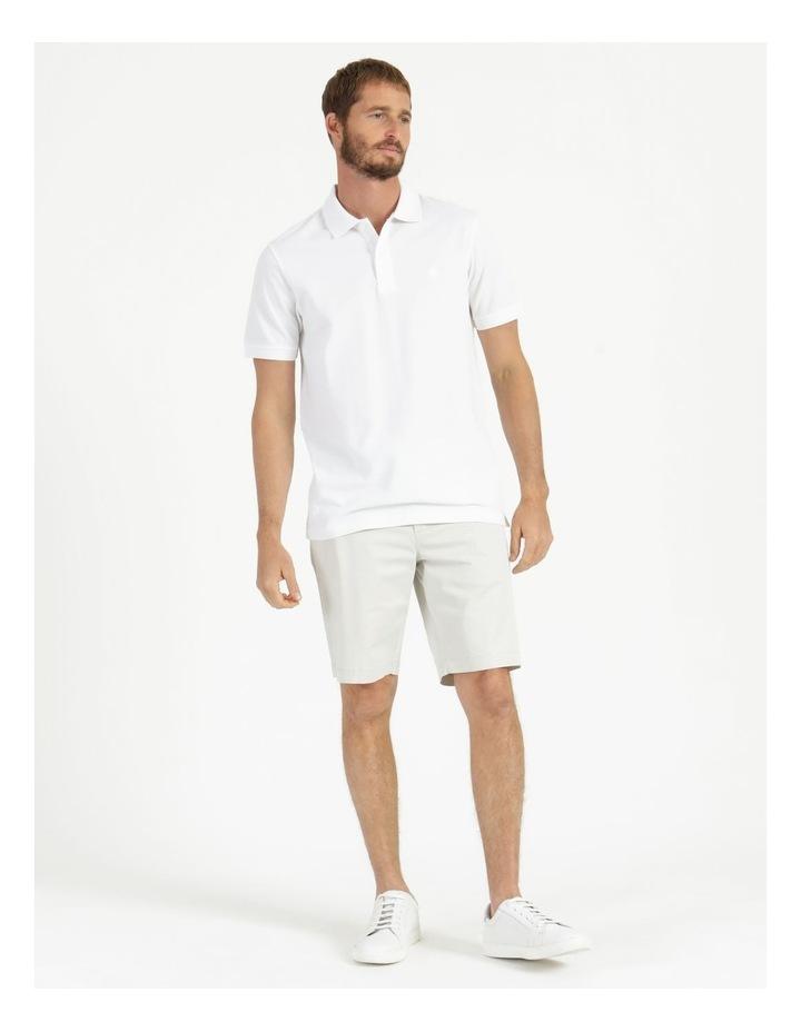 Essential Plain Polo White image 3
