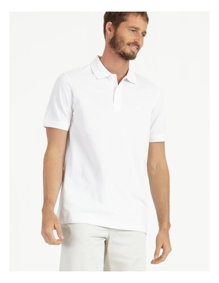 Essential Plain Polo White image 4