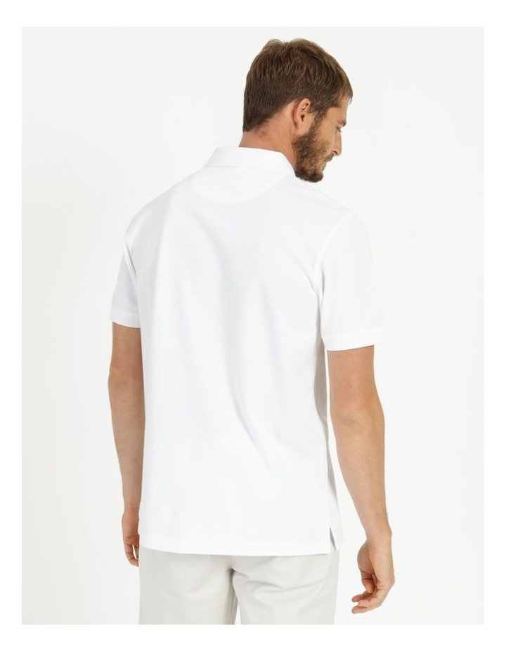 Essential Plain Polo White image 5