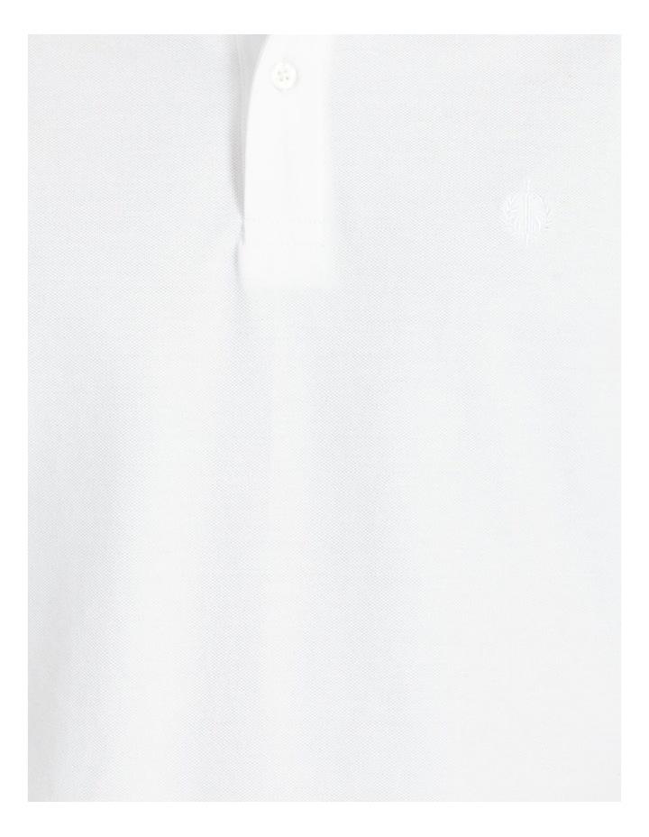 Essential Plain Polo White image 6