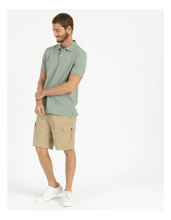 Essential Plain Polo Sage image 1