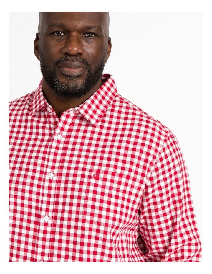 Frampton Gingham Check Long Sleeve Shirt image 4