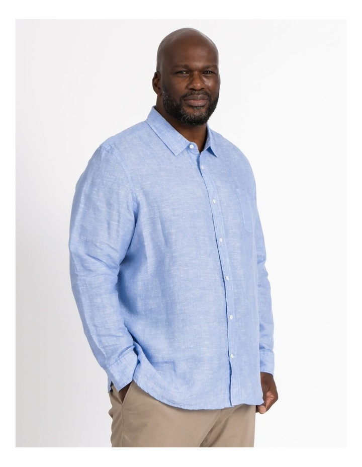 Bodega Linen Long Sleeve Shirt image 2