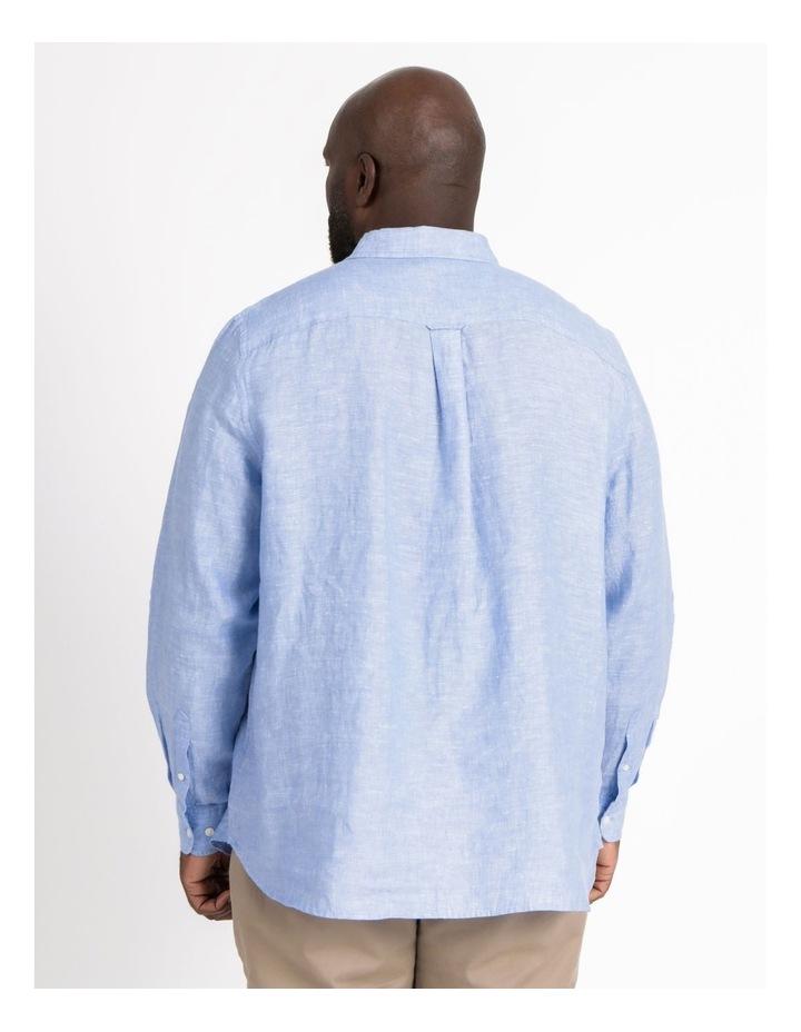 Bodega Linen Long Sleeve Shirt image 3