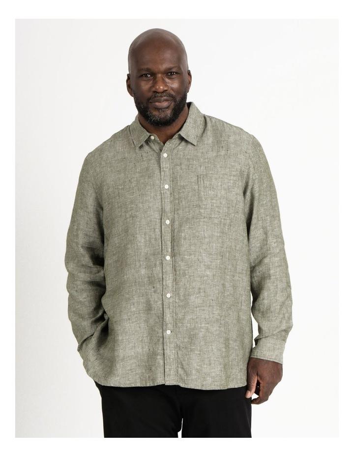 Bodega Linen Long Sleeve Shirt image 1