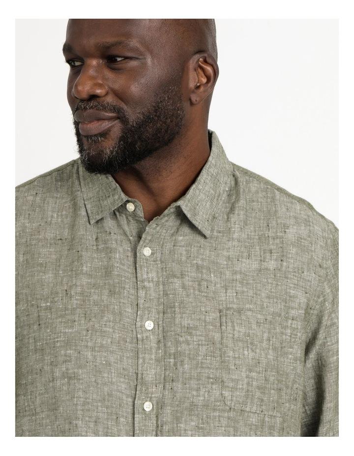 Bodega Linen Long Sleeve Shirt image 4