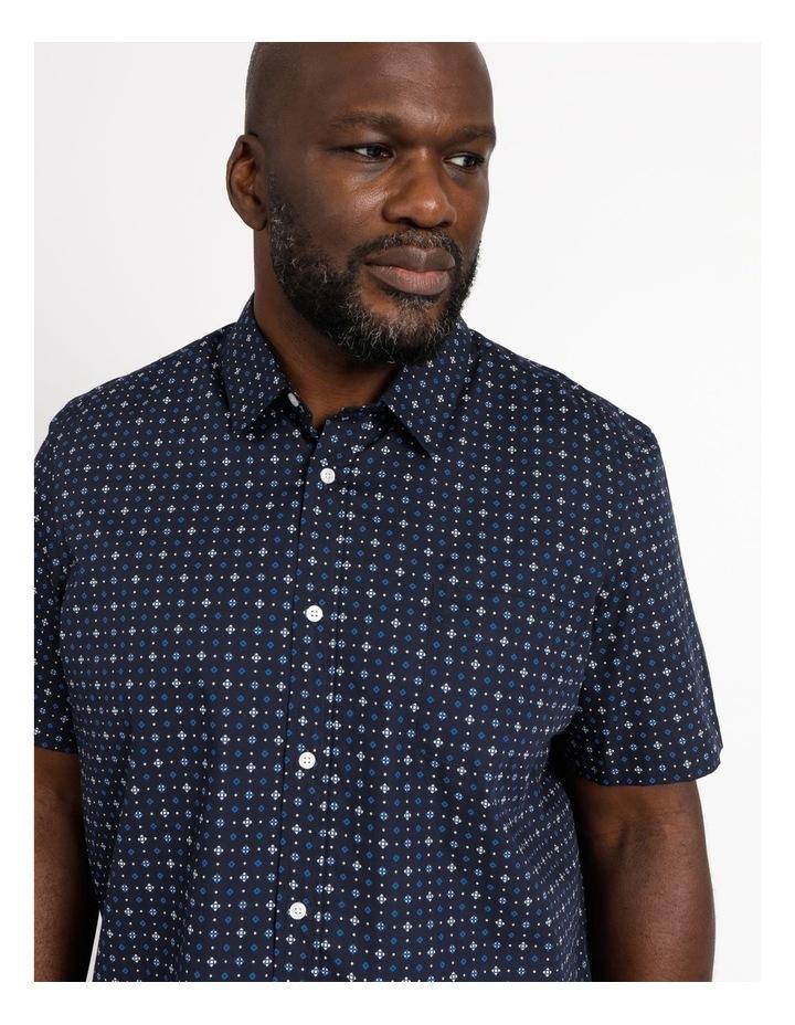 Fender Ditsy Geo Print Short Sleeve Shirt image 4