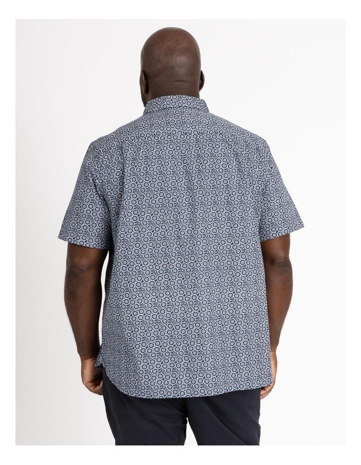 Gibson Floral Circle Print Short Sleeve Shirt image 3
