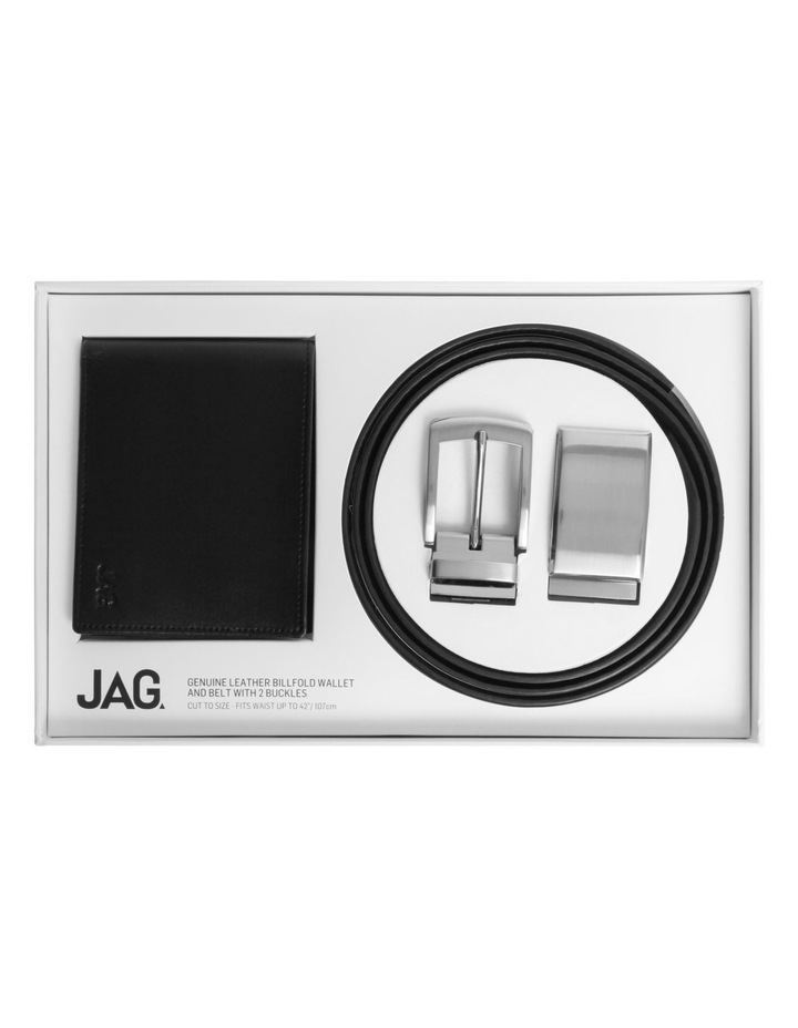 Wallet  Belt and Buckle Gift Pack image 1