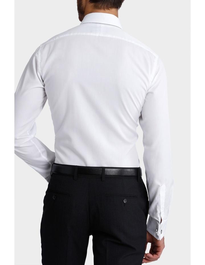 Plain White Business Shirt image 5