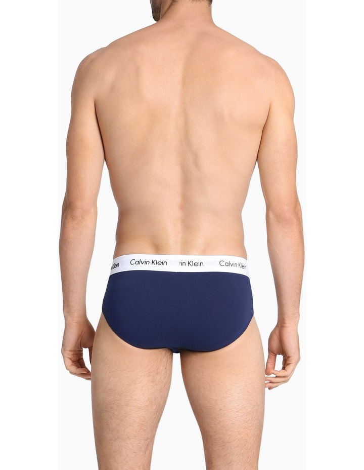 Cotton Stretch 3 Pack Briefs image 3