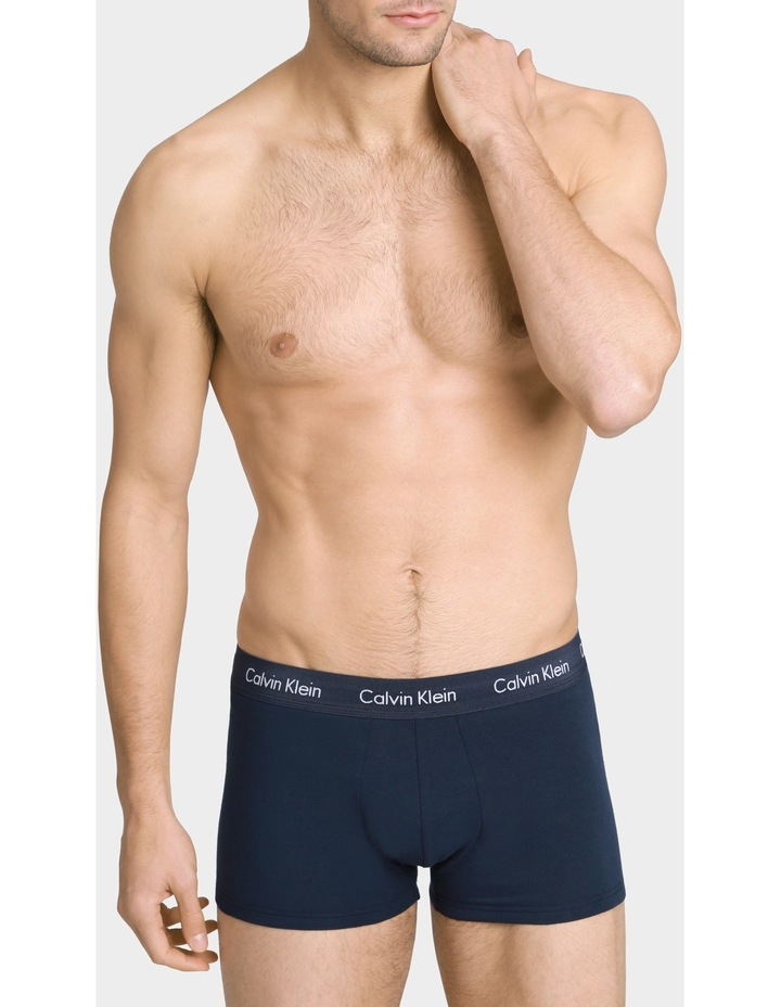 Cotton Stretch Low Rise Trunk 3Pk image 2