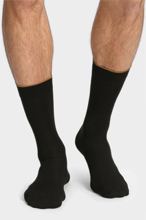 Jockey - 2 Pk Bamboo Cotton Business Sock Black