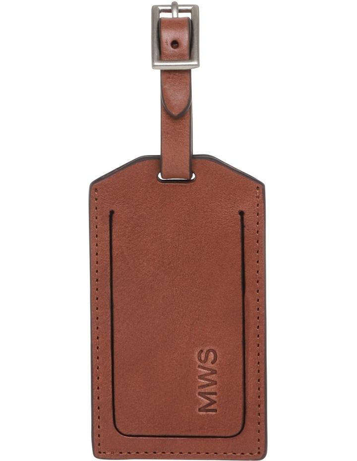Leather Luggage Tag image 1