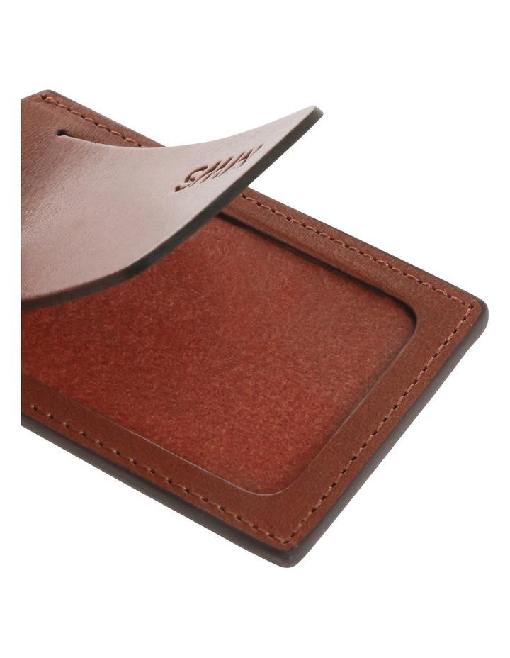 Leather Luggage Tag image 3