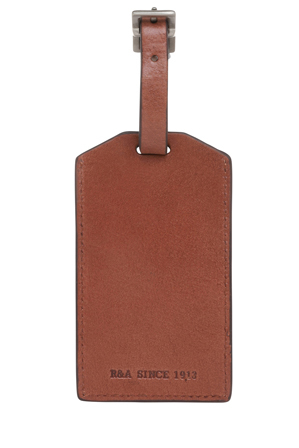 R&A - Leather Luggage Tag