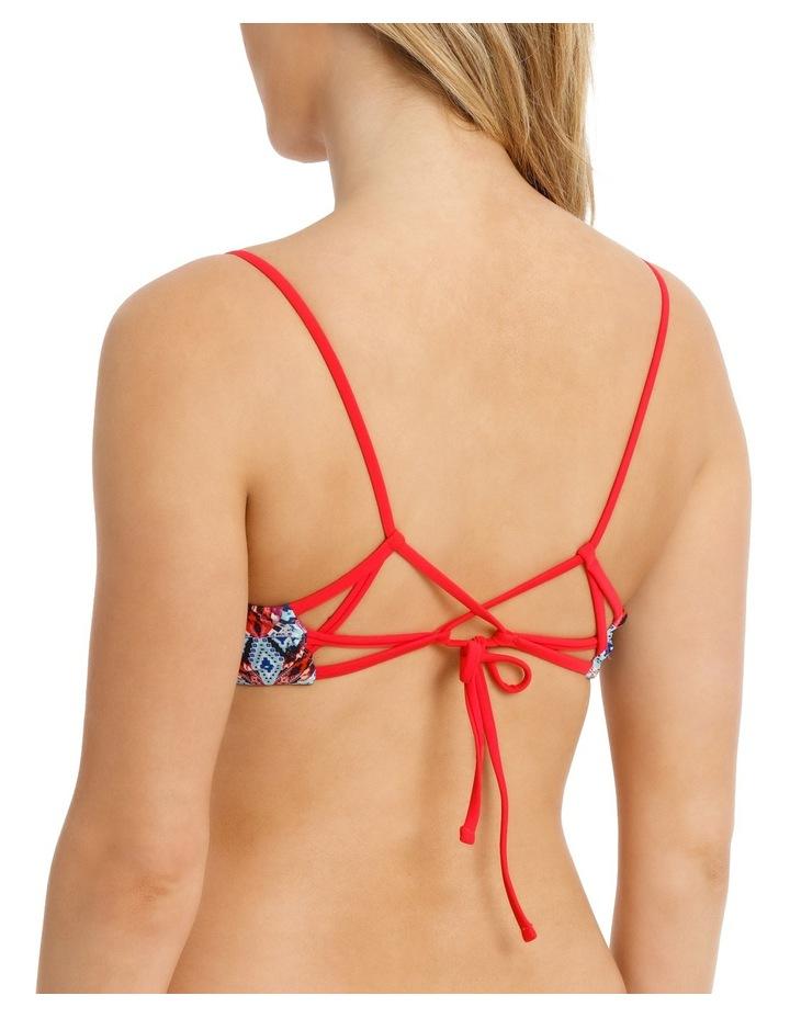 Reversible Tie Detail Top Print image 2
