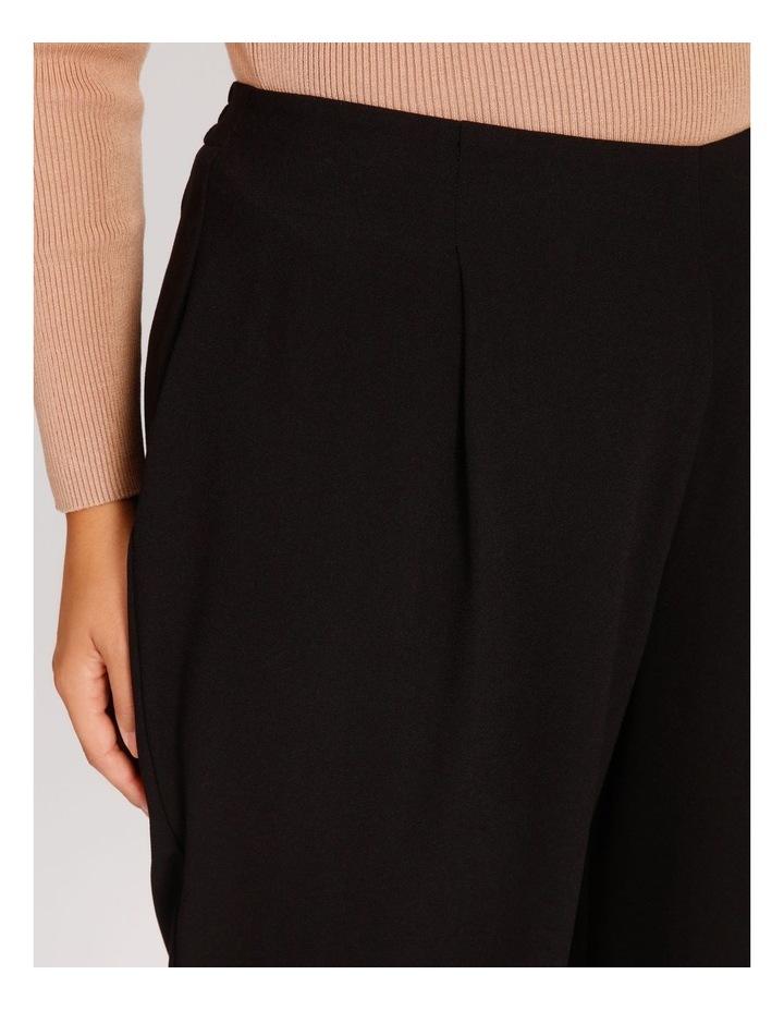 Curve Wide Leg Crepe Culotte Pants image 4