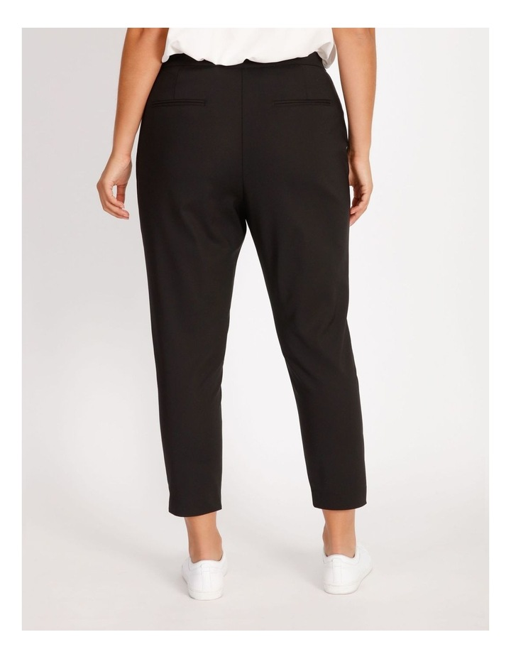 Curve Penny Mid Rise Full Length Pull On Cotton Sateen Pants image 3