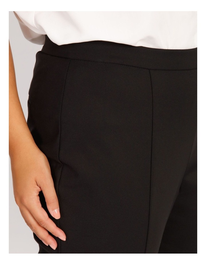 Curve Penny Mid Rise Full Length Pull On Cotton Sateen Pants image 4