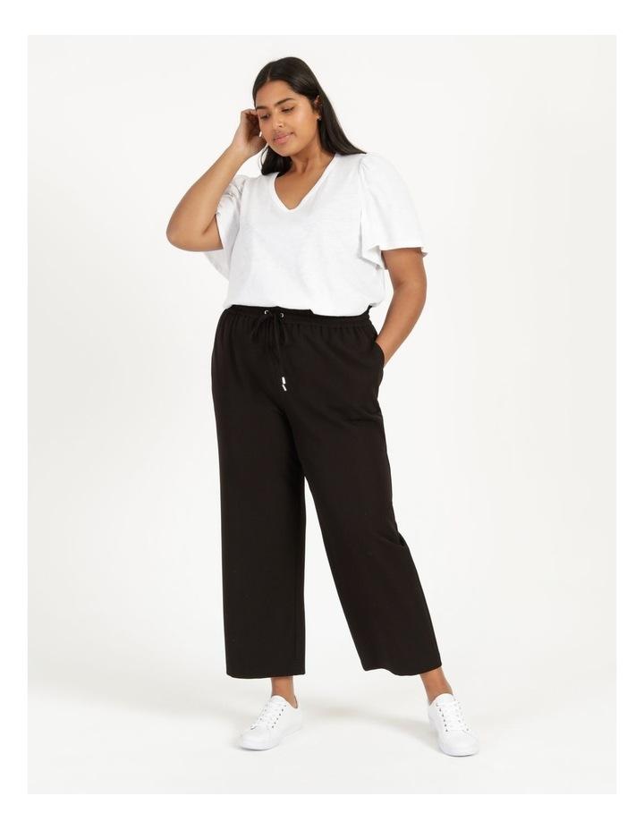 Elastic Waist Wide Leg Pants image 1