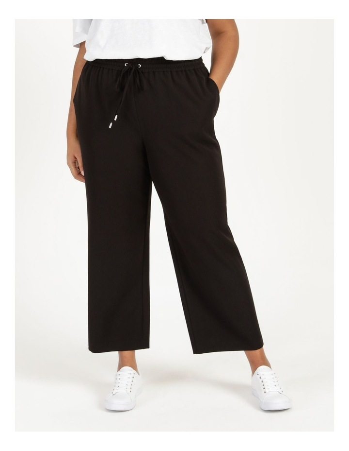 Elastic Waist Wide Leg Pants image 2