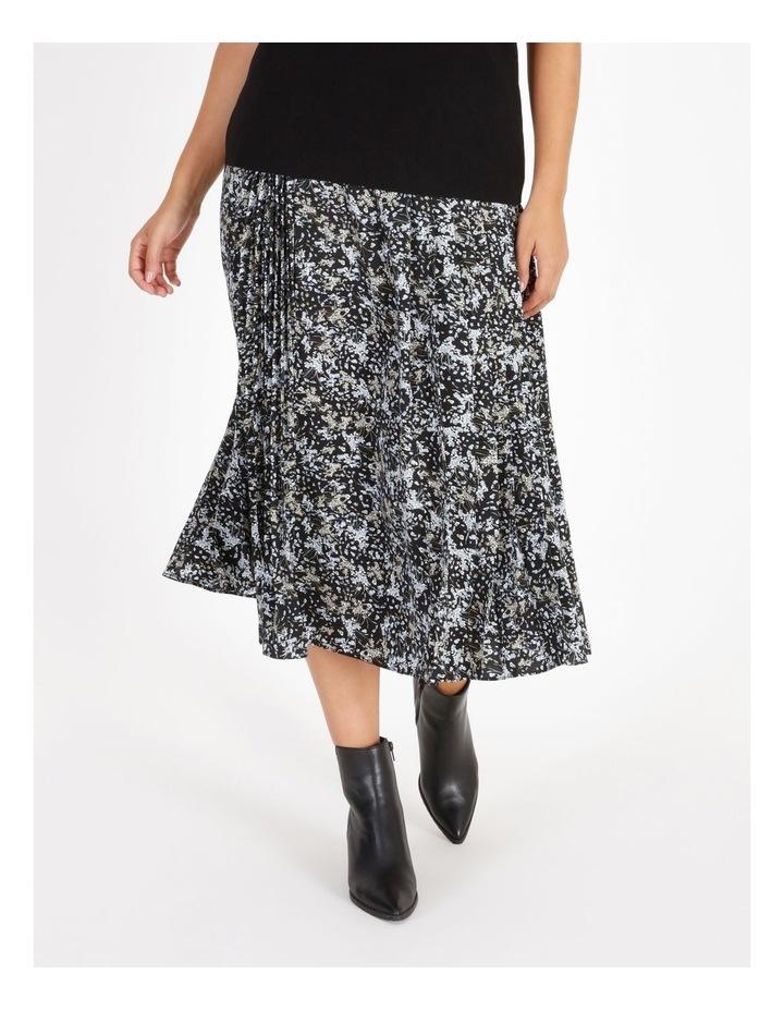 Satin Pleated Skirt image 1