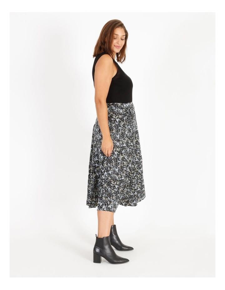 Satin Pleated Skirt image 2