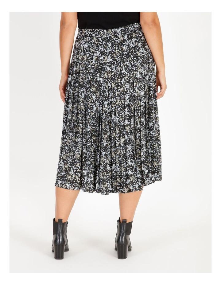 Satin Pleated Skirt image 3