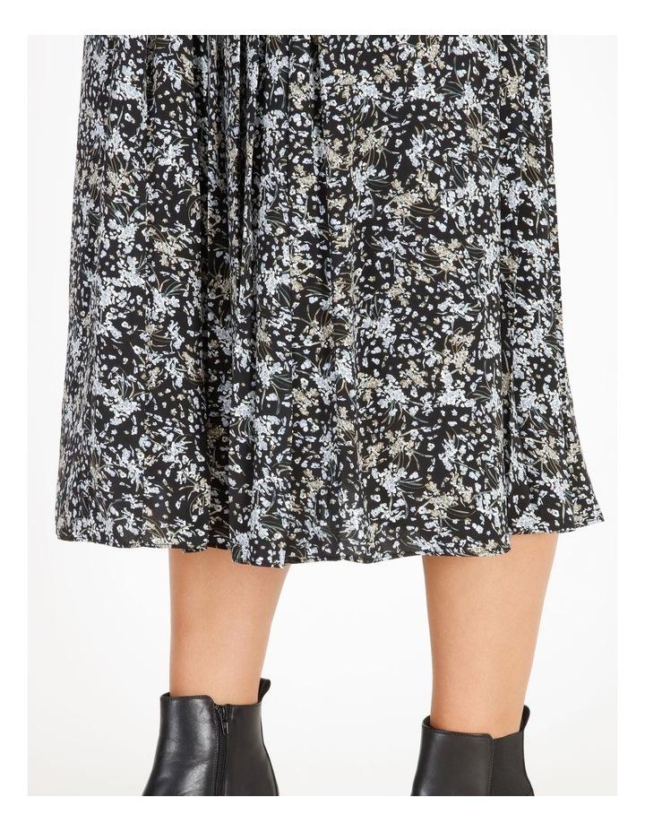 Satin Pleated Skirt image 4