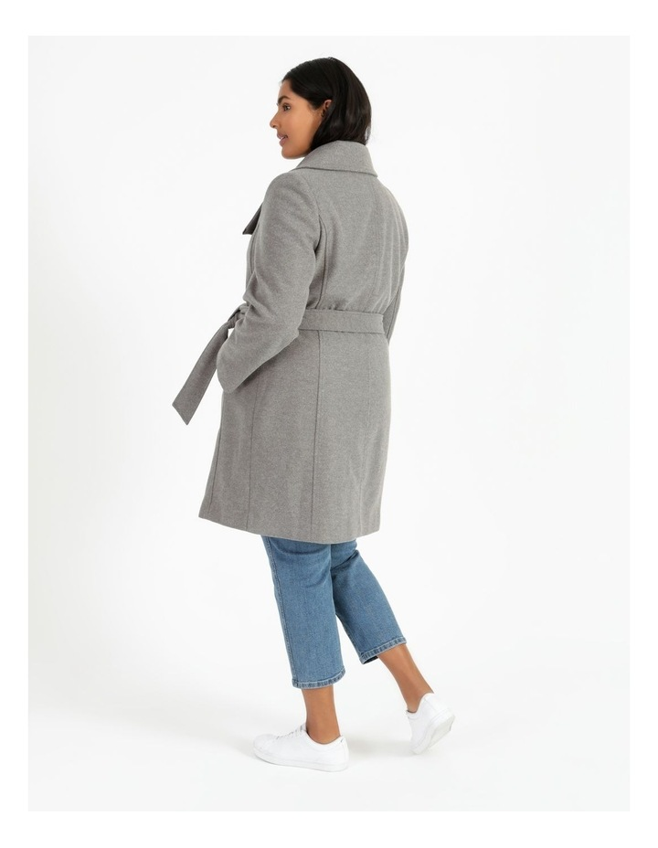 Funnel Neck Wrap Coat image 5