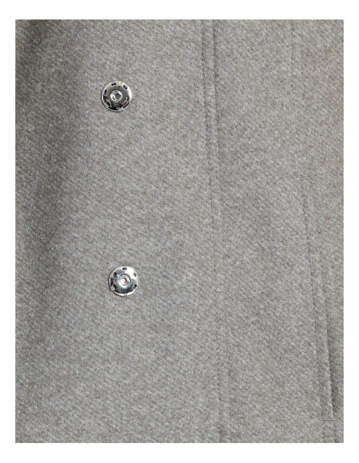 Funnel Neck Wrap Coat image 7