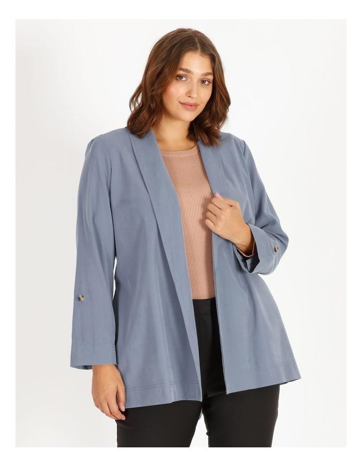 Soft Wrap Jacket With Tie Waist image 1