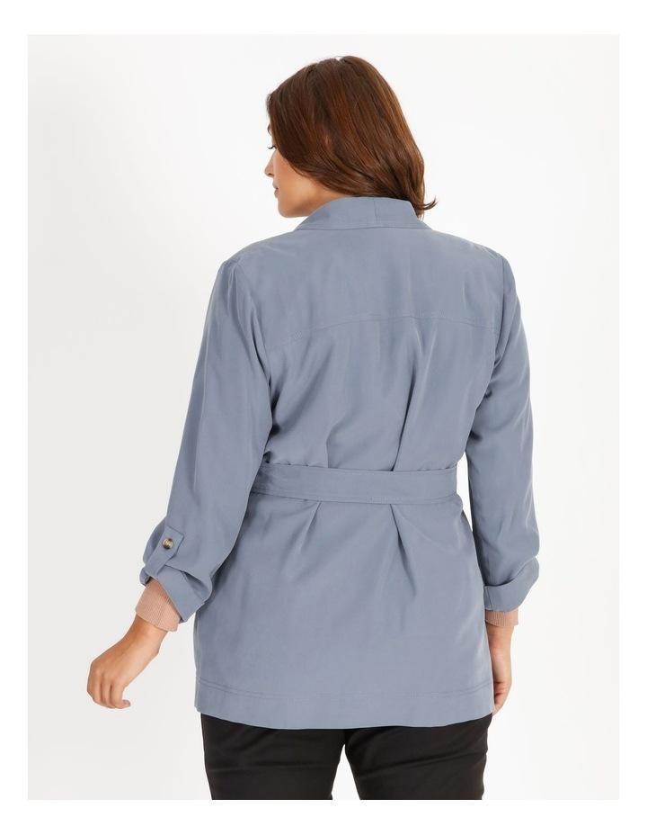 Soft Wrap Jacket With Tie Waist image 3
