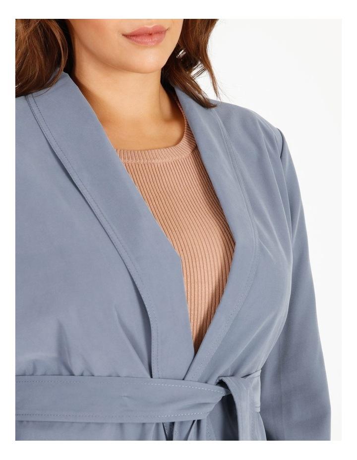 Soft Wrap Jacket With Tie Waist image 5